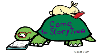 Come to storytime turtle
